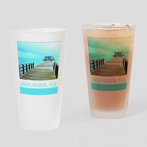 Cool Rod & Reel Pier Drinking Glass