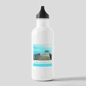 Cool Rod & Reel Pier Stainless Water Bottle 1.0L