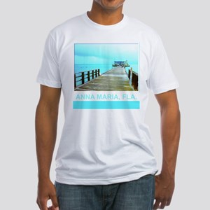 Cool Rod & Reel Pier Fitted T-Shirt