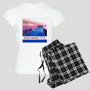 Pink and blue Rod & Reel Pier Women's Light Pajama