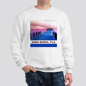 Pink and blue Rod & Reel Pier Sweatshirt