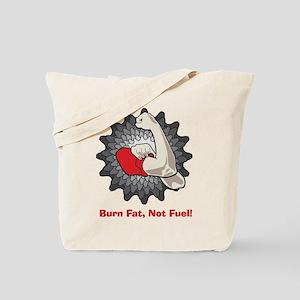Burn Fat Tote Bag
