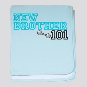 New Brother baby blanket