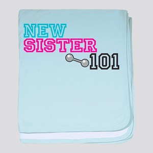 New Sister baby blanket