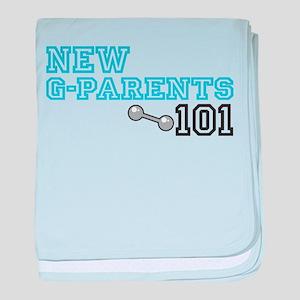 New Grandparents baby blanket