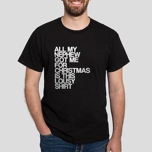 Nephew, Lousy Christmas Gift, Dark T-Shirt