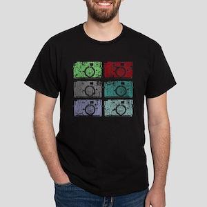 Cameras, Warhol, Vintage Dark T-Shirt
