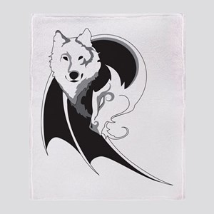 Wolf & Dragon Throw Blanket