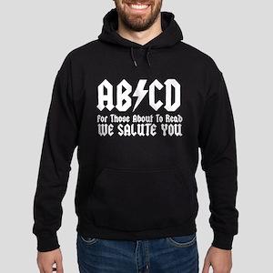 ABCD, We Salute You, Hoodie (dark)