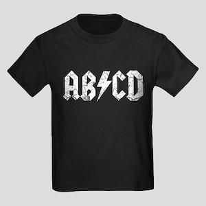 ABCD, Vintage, Kids Dark T-Shirt