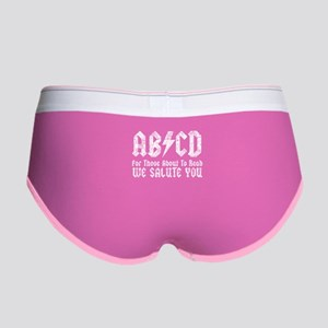 ABCD, We Salute You, Women's Boy Brief