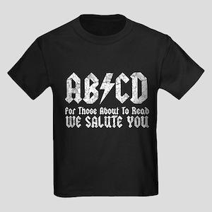 ABCD, We Salute You, Kids Dark T-Shirt