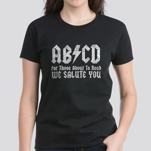 ABCD, We Salute You, Women's Dark T-Shirt