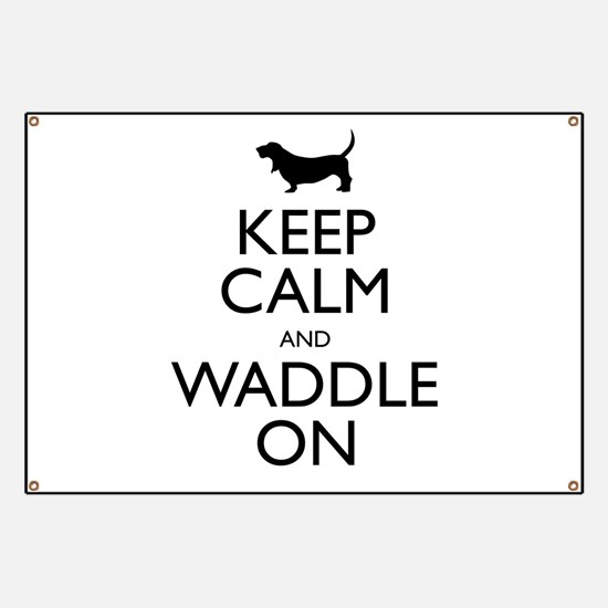 Keep Calm and Waddle On Banner
