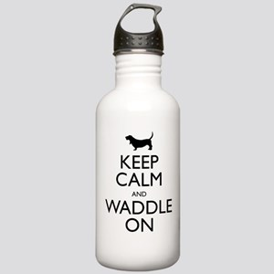 Keep Calm and Waddle On Stainless Water Bottle 1.0