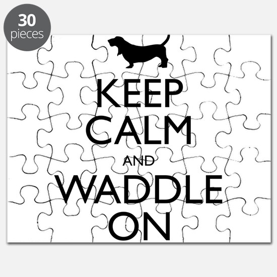 Keep Calm and Waddle On Puzzle