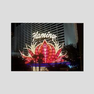 Flamingo Hotel Las Vegas Rectangle Magnet
