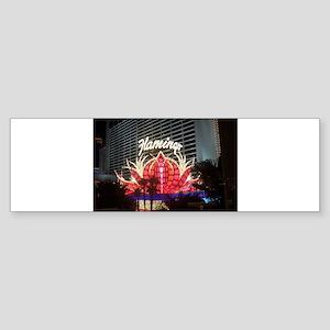 Flamingo Hotel Las Vegas Sticker (Bumper)
