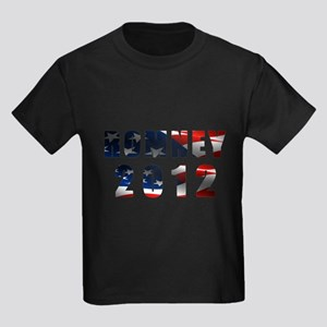 Romney 2012 Kids Dark T-Shirt