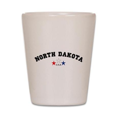 North Dakota Shot Glass