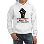 Introverts Unite Hooded Sweatshirt