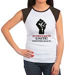 Introverts Unite Women's Cap Sleeve T-Shirt