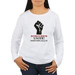 Introverts Unite Women's Long Sleeve T-Shirt
