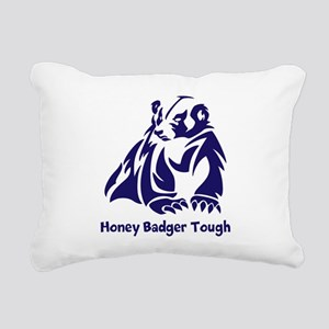 Honey Badger Tough Rectangular Canvas Pillow