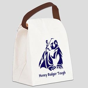 Honey Badger Tough Canvas Lunch Bag