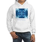 Buddha Think Quote Hooded Sweatshirt