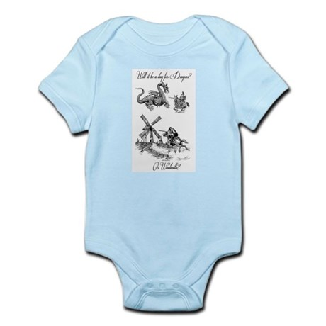 Dragons or Windmills Infant Bodysuit