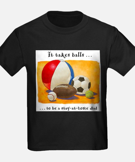 Stay-at-home dad: balls T