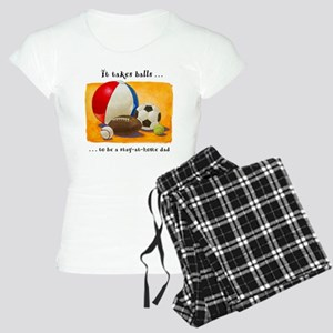 Stay-at-home dad: balls Women's Light Pajamas
