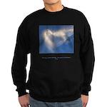 Buddha Heart Quote Sweatshirt (dark)