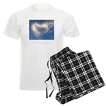 Buddha Heart Quote Men's Light Pajamas