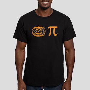 Pumpkin pie Men's Fitted T-Shirt (dark)