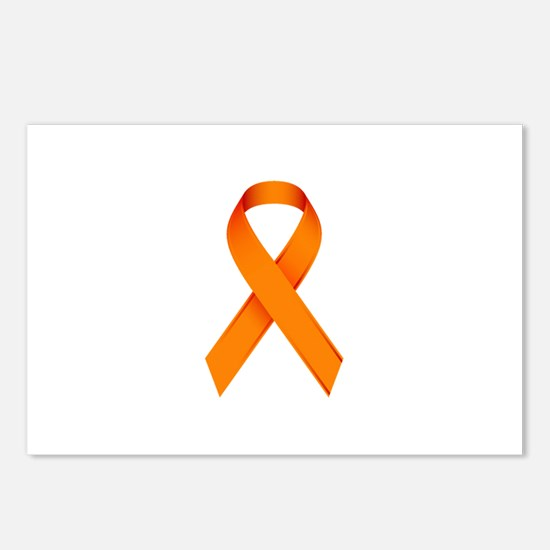 Orange Ribbon Postcards (Package of 8)