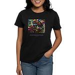 Magic Reveals Itself Quote Women's Dark T-Shirt