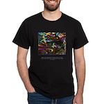 Magic Reveals Itself Quote Dark T-Shirt