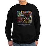 Magic Reveals Itself Quote Sweatshirt (dark)