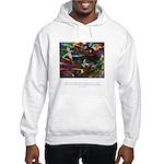 Magic Reveals Itself Quote Hooded Sweatshirt