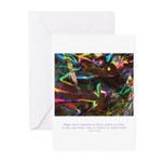 Magic Reveals Itself Quote Greeting Cards (Pk of 1