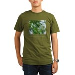 Heaven in Raindrop Quote Organic Men's T-Shirt (da