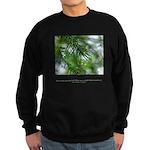 Heaven in Raindrop Quote Sweatshirt (dark)