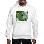 Heaven in Raindrop Quote Hooded Sweatshirt