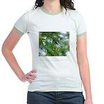 Heaven in Raindrop Quote Jr. Ringer T-Shirt