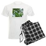 Heaven in Raindrop Quote Men's Light Pajamas