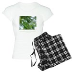 Heaven in Raindrop Quote Women's Light Pajamas