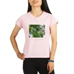 Heaven in Raindrop Quote Performance Dry T-Shirt