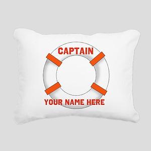 custom Captain Rectangular Canvas Pillow